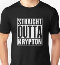Straight Outta Krypton Unisex T-Shirt