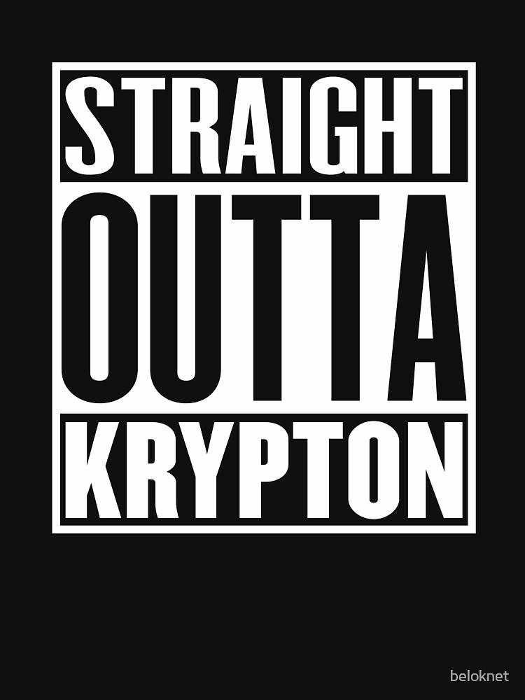 Straight Outta Krypton | Unisex T-Shirt