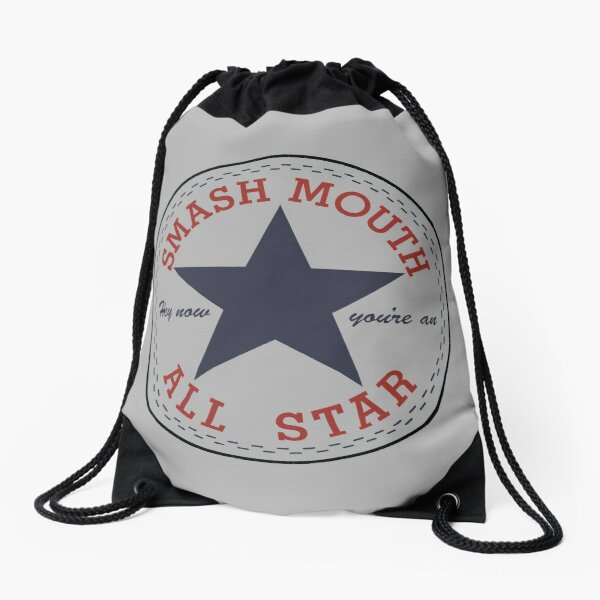 Hey now, you're all star Drawstring Bag