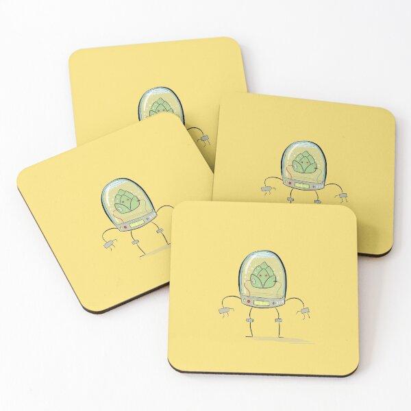 Citra Hops Coasters (Set of 4)