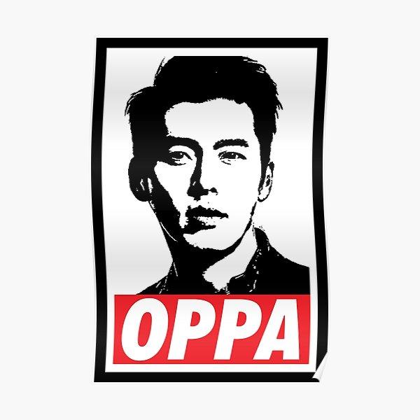 OPPA Hyun Bin Poster
