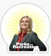 Parks and Recreation- Leslie Knope Sticker