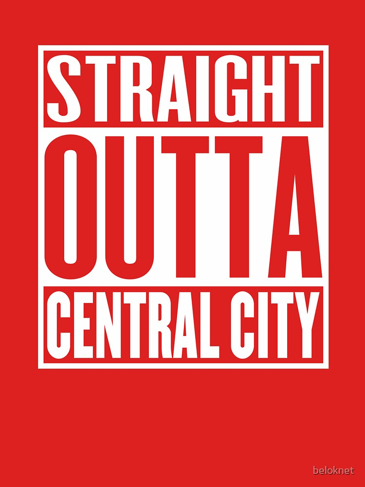 Straight Outta Central City by beloknet
