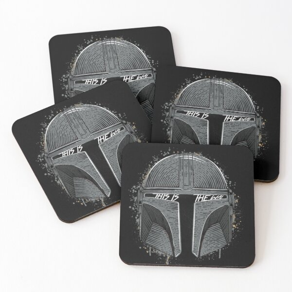 This Is The Way Coasters (Set of 4)