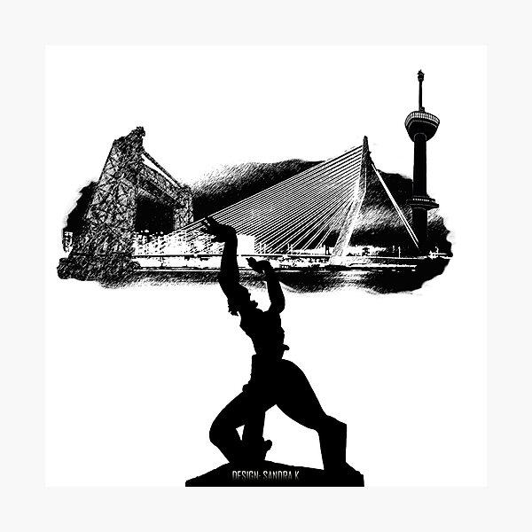 Rotterdam skyline Photographic Print