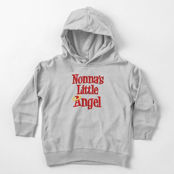 Nonnas Engelchen Halo Design Italienisches Kind Kleinkind Hoodie