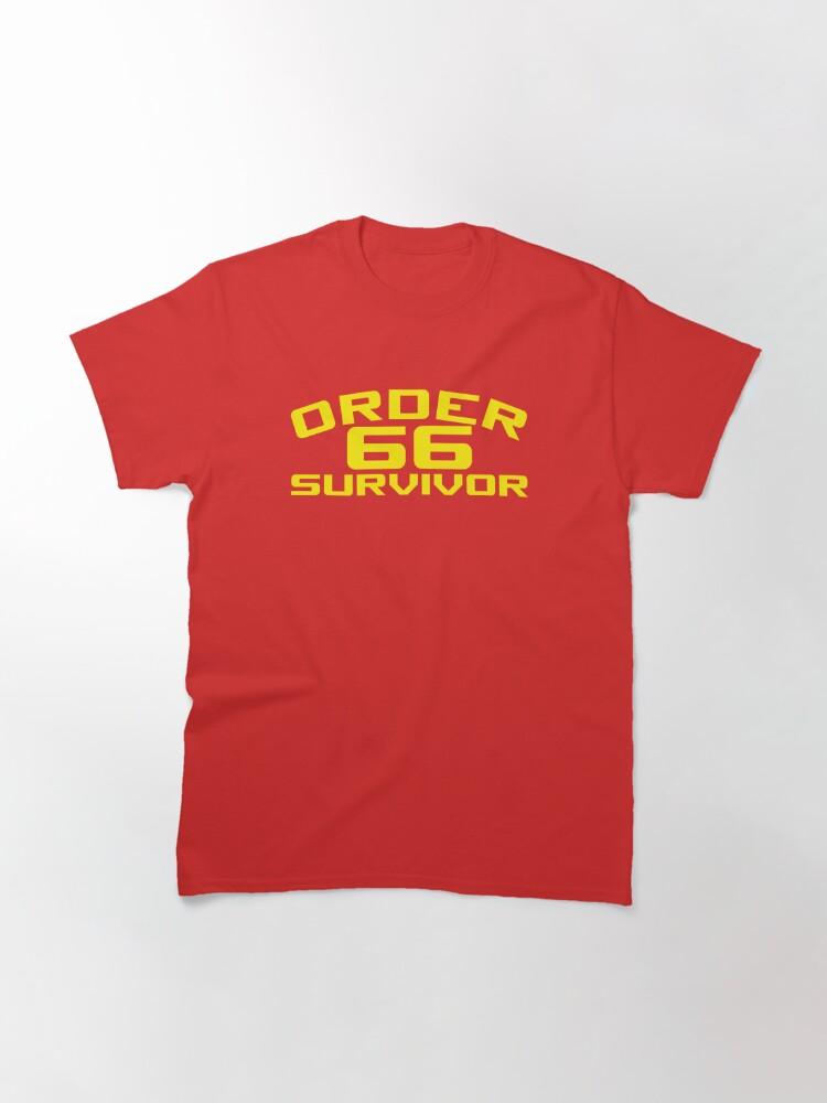 Alternate view of Order 66 Survivor Classic T-Shirt