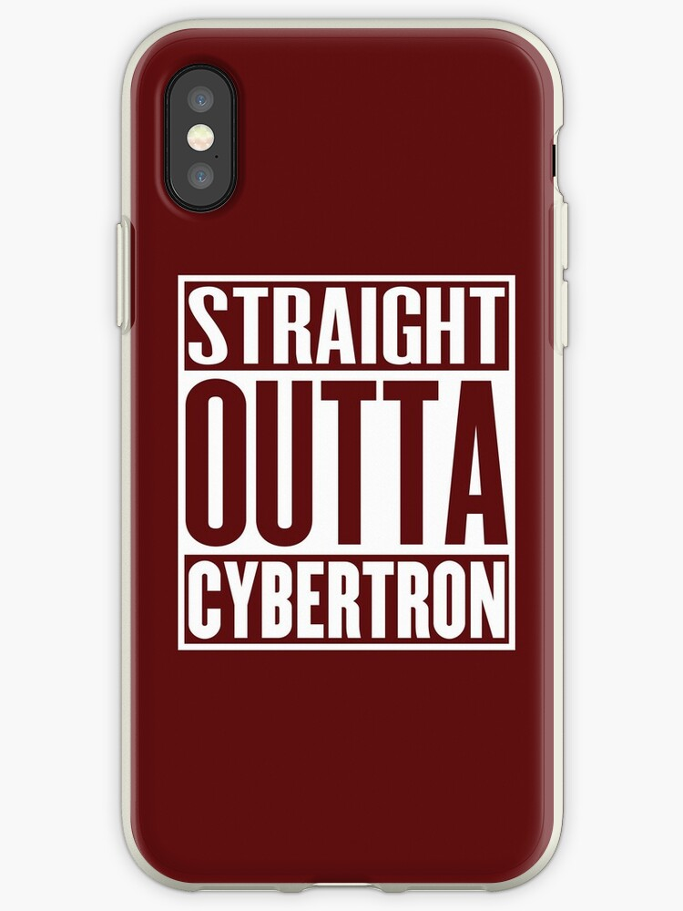 Straight Outta Cybertron by beloknet