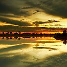 The Burnt Lake - The Lakes Golf Club NSW by Mark  Lucey