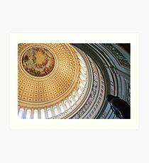 Rotunda of the United States Capitol Art Print