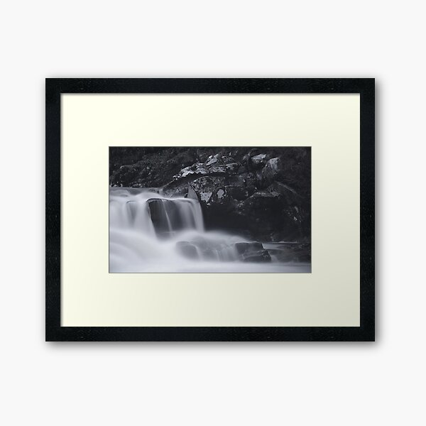 Going Through the Mill Framed Art Print