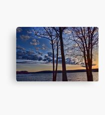 Sunrise over my community Canvas Print