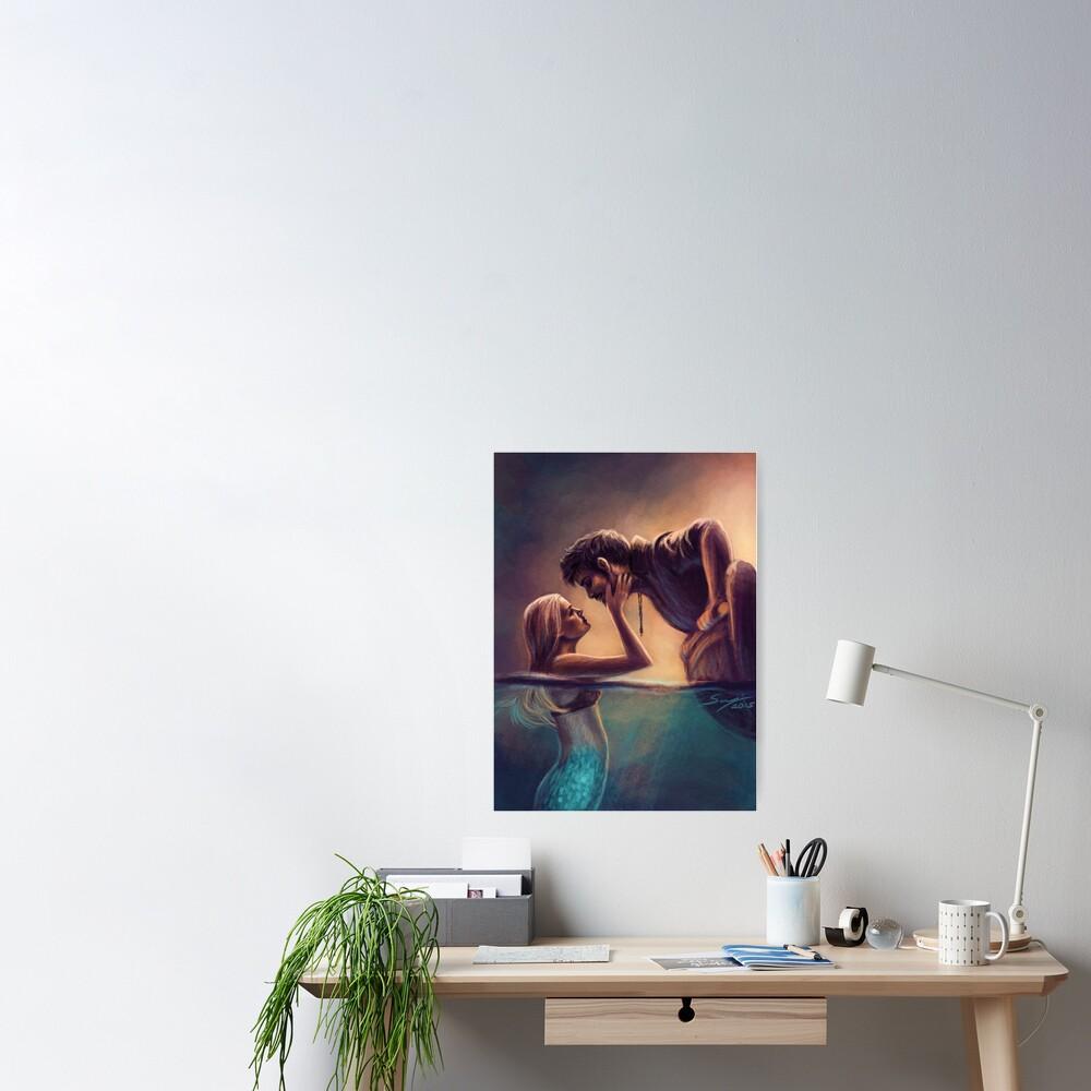 Captain Jones & The Mermaid Poster