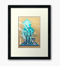 The White King-Knight's Pawn Framed Print