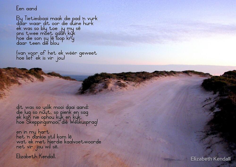 Een aand by Elizabeth Kendall