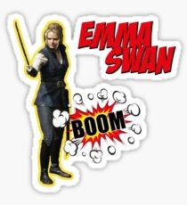 Emma Swan - BOOM  Sticker
