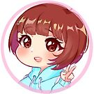 Sora chan Sticker  by pinku72