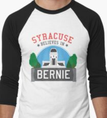 Syracuse Believes in Bernie Men's Baseball ¾ T-Shirt