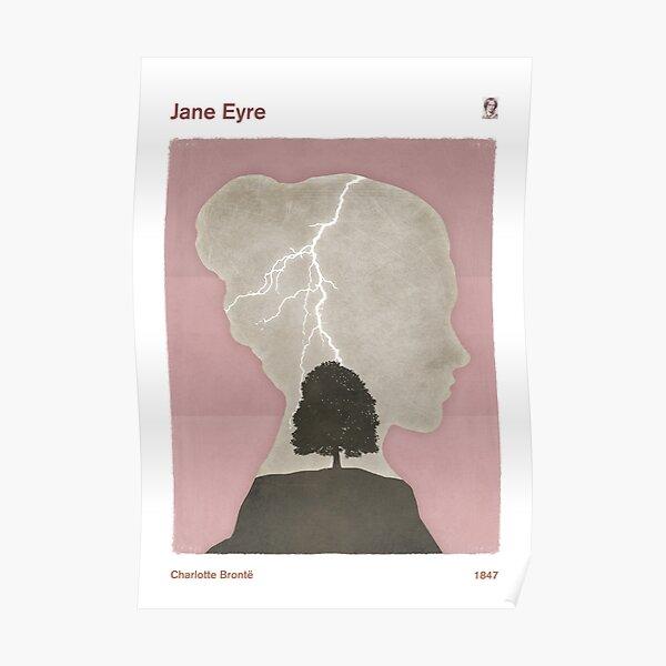 """Charlotte Brontë """"Jane Eyre"""",  Poster"""