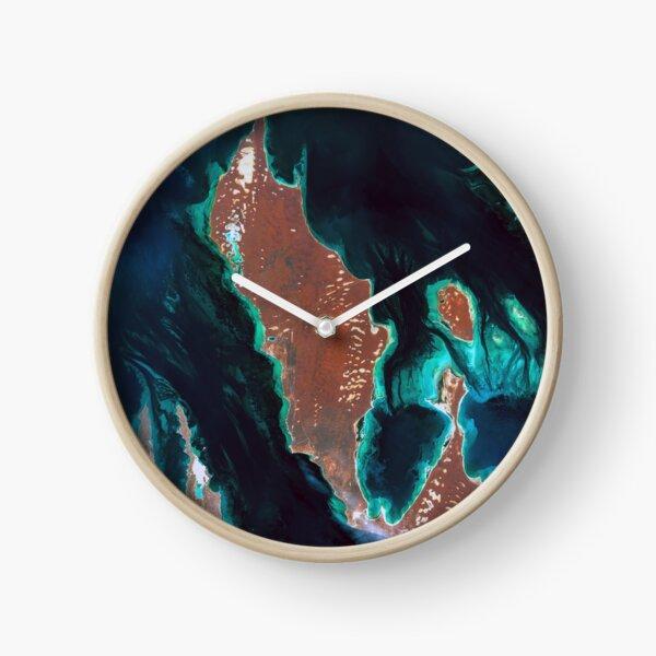 Shark Bay, Australia Clock