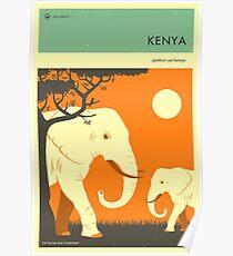 VISIT KENYA Poster