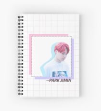 Weiches rotes Jimin Spiralblock