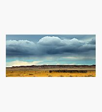 Rain Over The Prarie Photographic Print