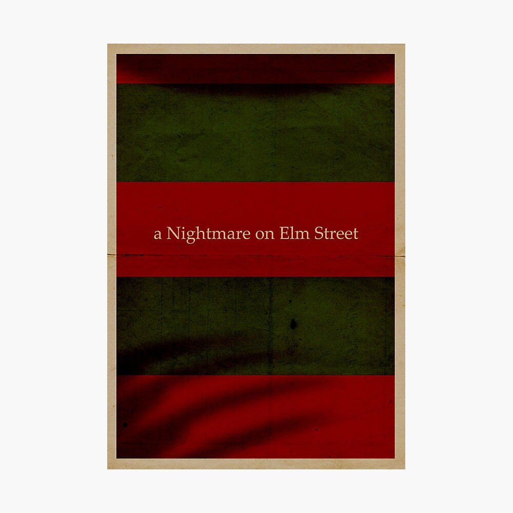 A nightmare on Elm Street Photographic Print