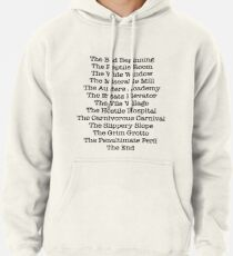 A Series of Unfortunate Events Pullover Hoodie