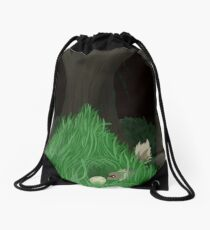 Hoenn: Petalburg Woods - Peek-A-Boo! Drawstring Bag
