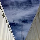 View from a steel corridor by - Zig -