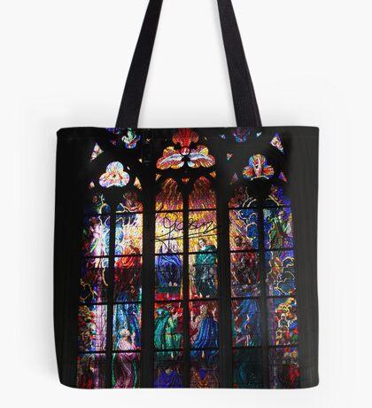 The Metropolitan Cathedral of Saints Vitus, Wenceslaus and Adalbert . Prague. Free Europe. Doctor Faustus. Tote Bag