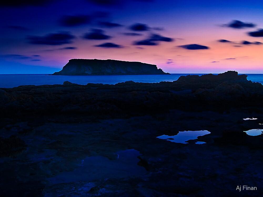 St. Georges Island Cyprus by Aj Finan