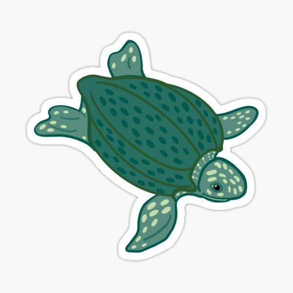 Leatherback Sea Turtle - Cartooon Sticker