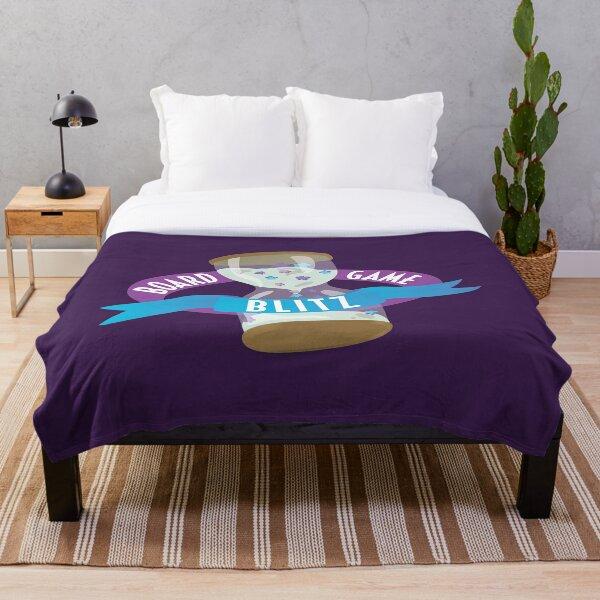 Board Game Blitz Logo Throw Blanket