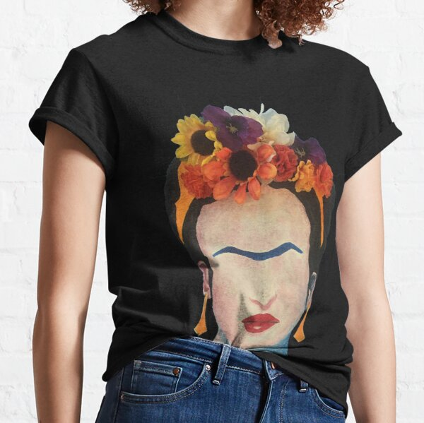 Frida, Flowers and All Classic T-Shirt