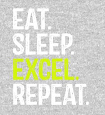 Eat Sleep Excel Repeat Kids Pullover Hoodie