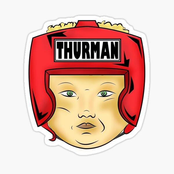 Thurman Merman Sticker