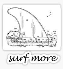 surf more Sticker