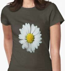 Lonely Daisy Womens Fitted T-Shirt