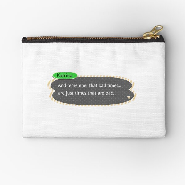 Animal Crossing Bad Times Zipper Pouch