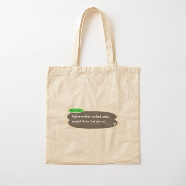 Animal Crossing Bad Times Cotton Tote Bag