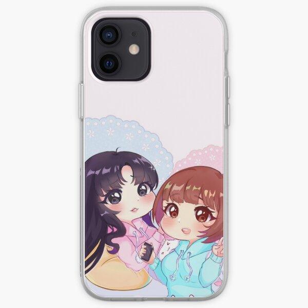 Sora & Yuri [Pajama Party] iPhone Soft Case