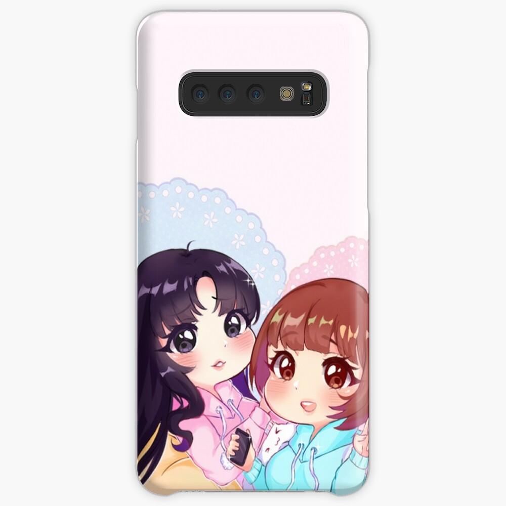 Sora & Yuri [Pajama Party] Case & Skin for Samsung Galaxy