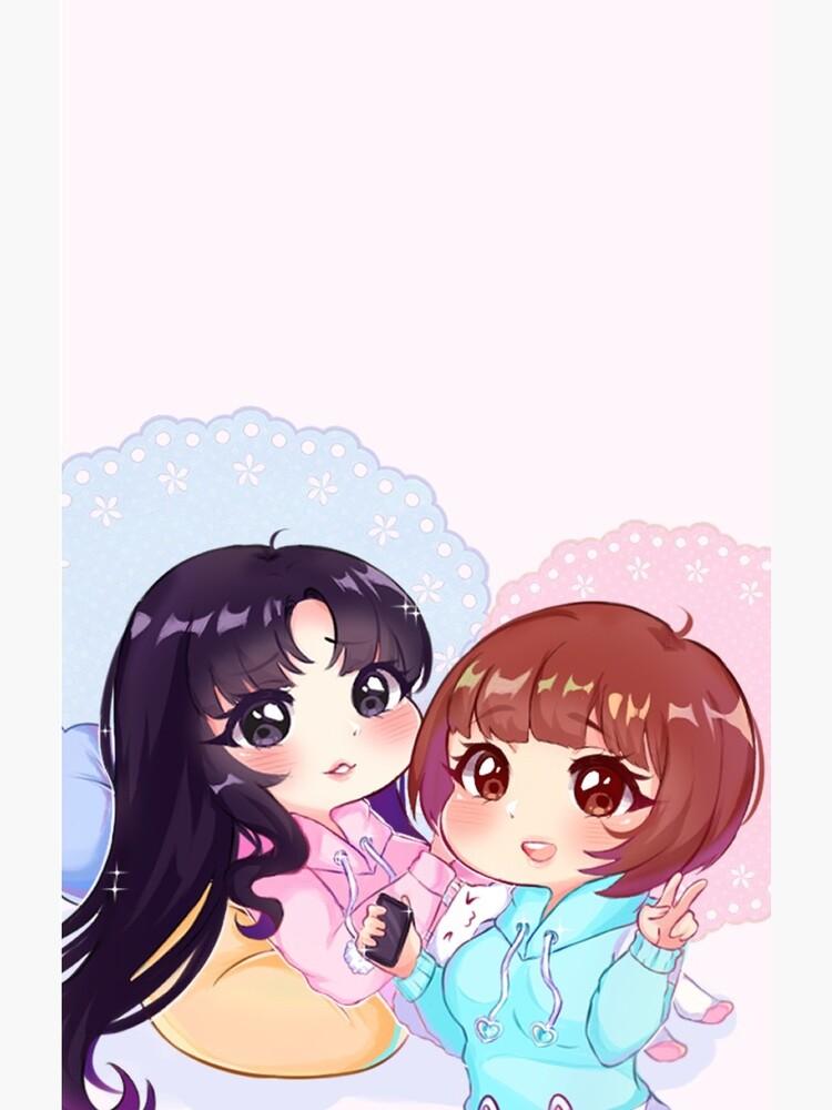 Sora & Yuri [Pajama Party] by pinku72