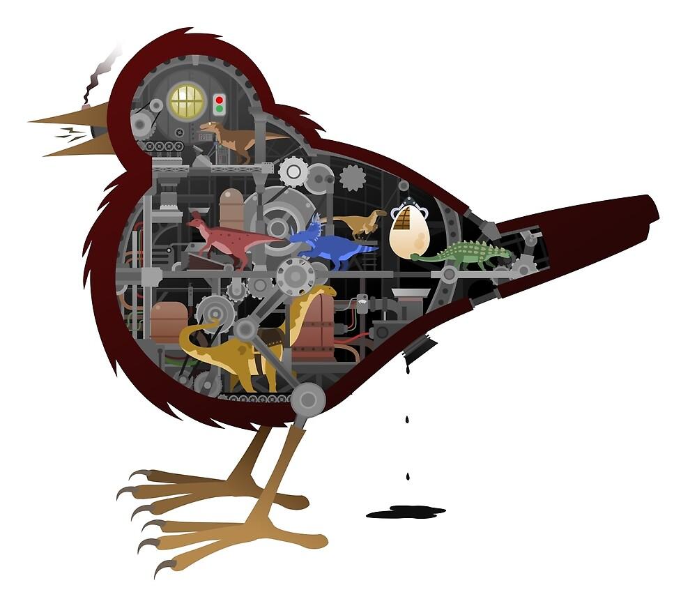Birds Are Dinosaurs by FrostDragon
