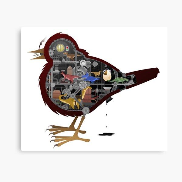 Birds Are Dinosaurs Canvas Print