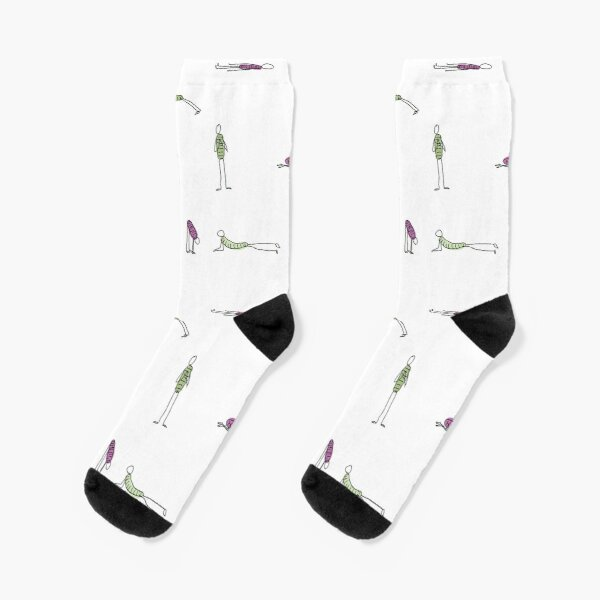 Yoga Moves Socks