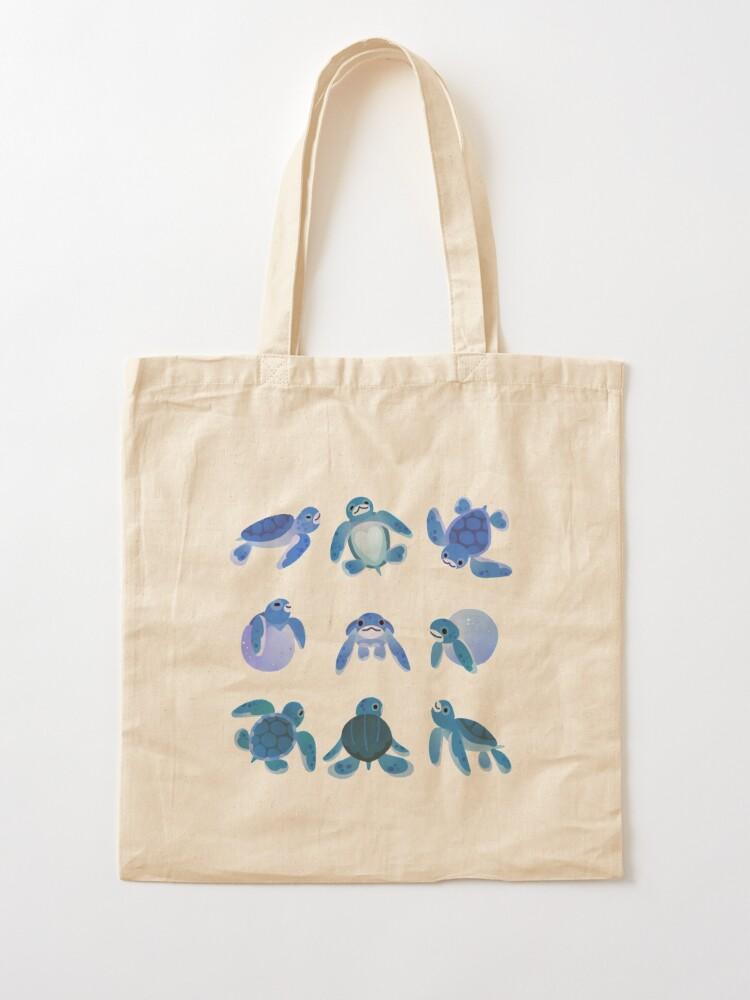 Alternate view of Baby sea turtles Tote Bag