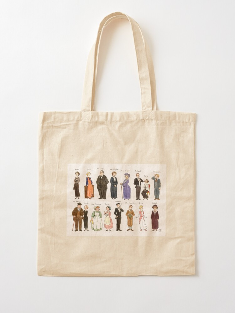 Alternate view of Downton A. Portraits Tote Bag